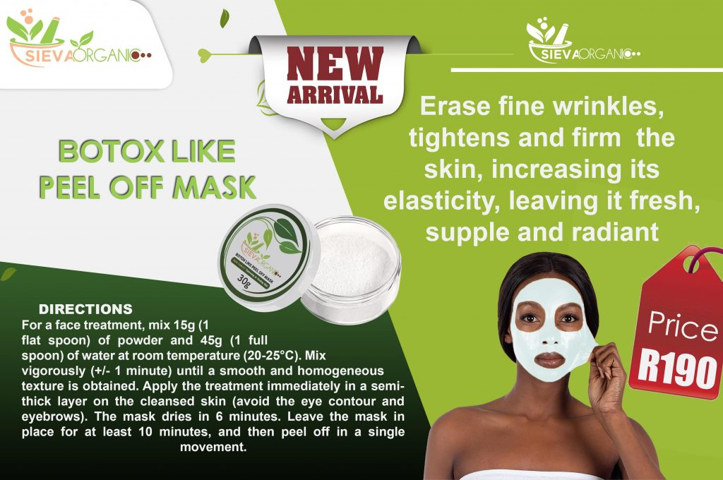 Botox Peel off Mask ad-min
