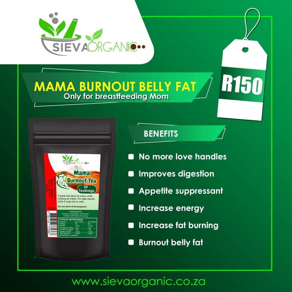 Mama Burnout Tea ad
